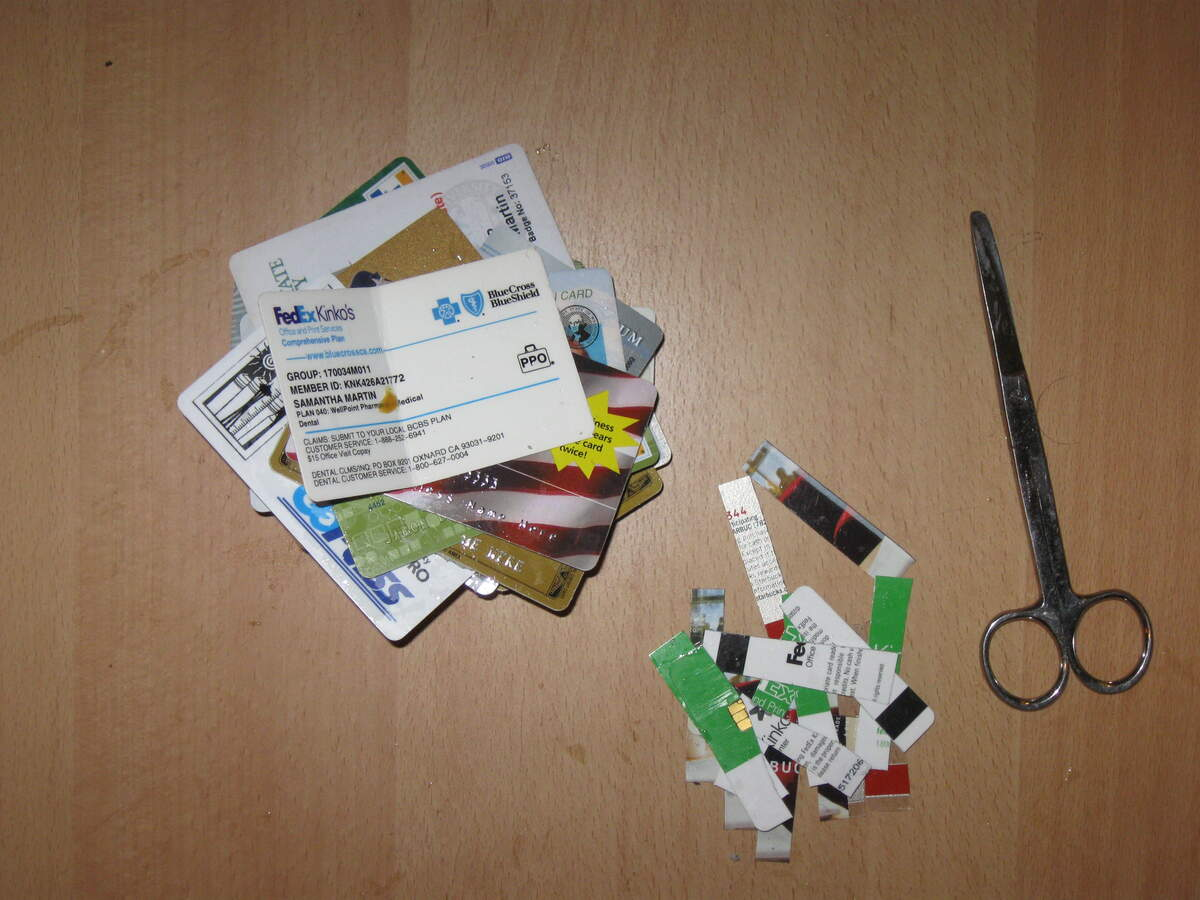 Image for National Cut Up Your Credit Card Day
