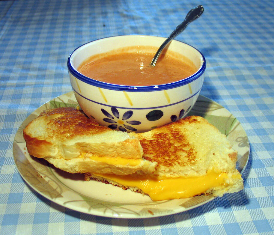 Image for National Grilled Cheese Sandwich Month