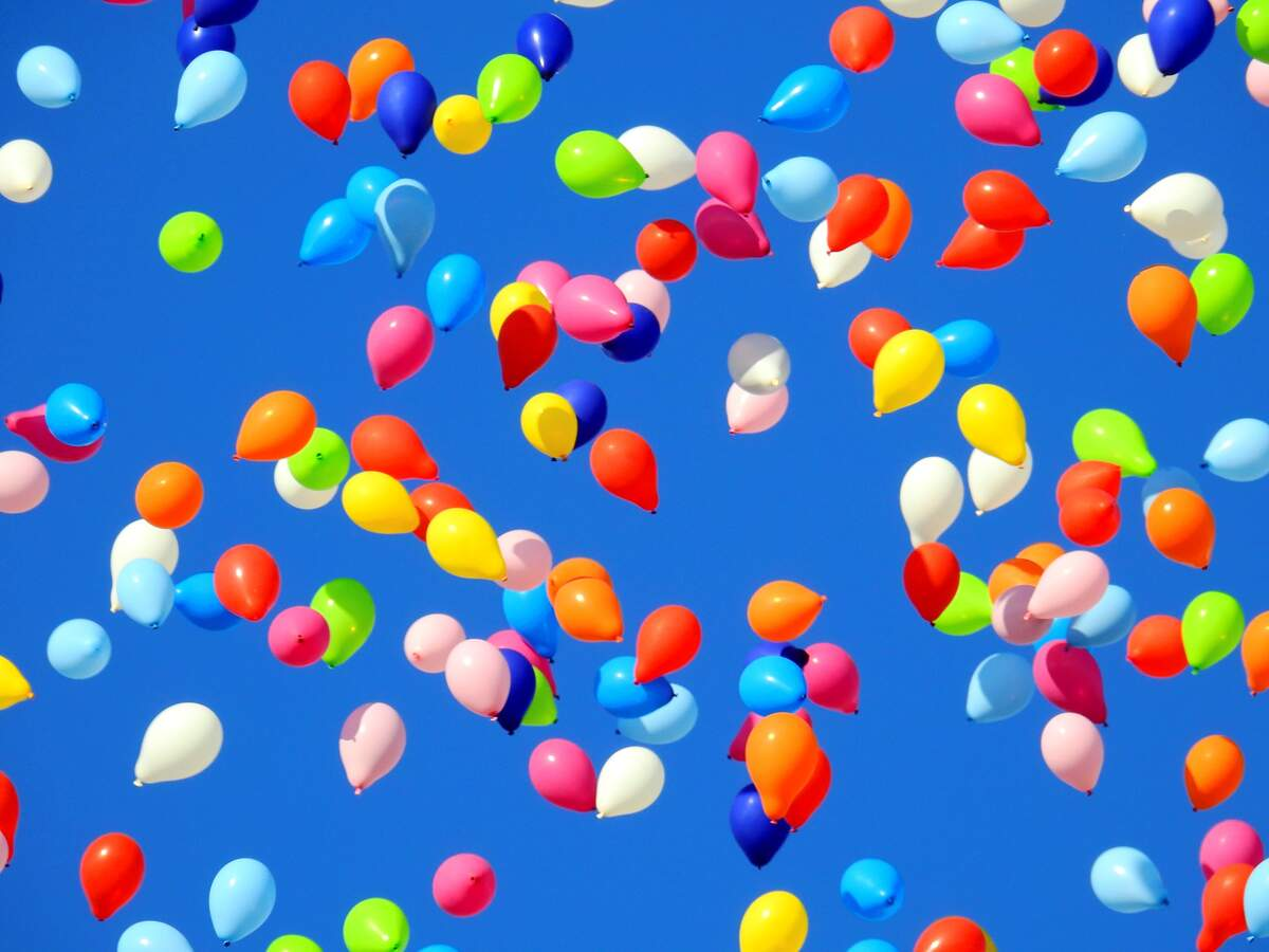 Image for Balloons to Heaven Day