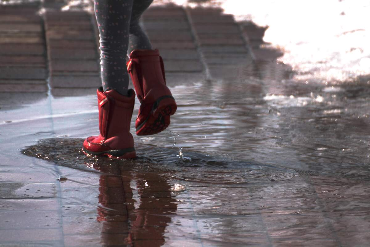 Image for National Jump in Muddy Puddles Day