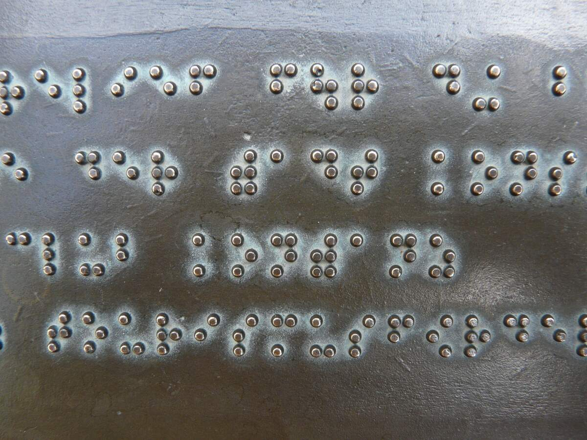 Image for National Braille Literacy Month