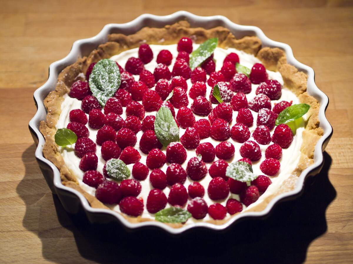 Image for National Raspberry Cream Pie Day
