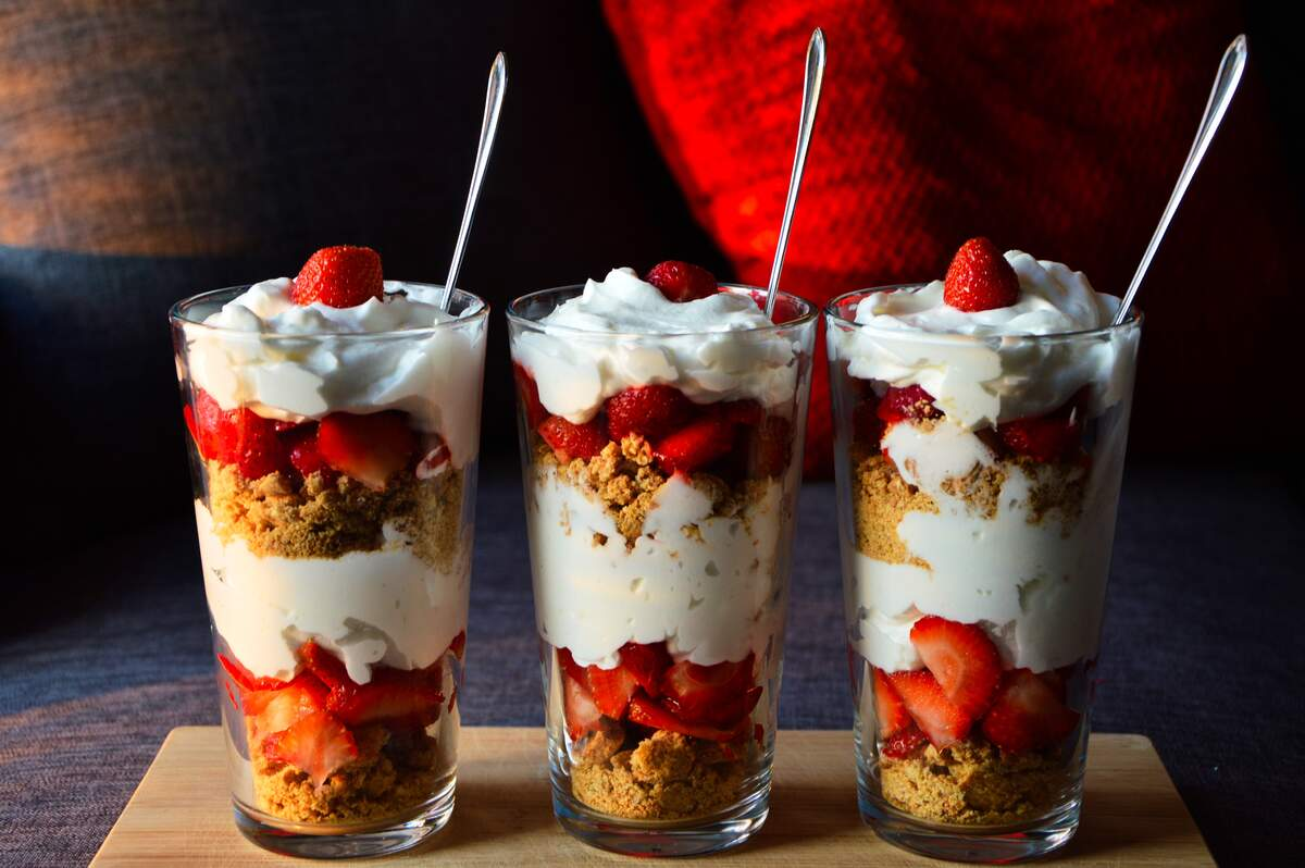 Image for National Strawberry Parfait Day