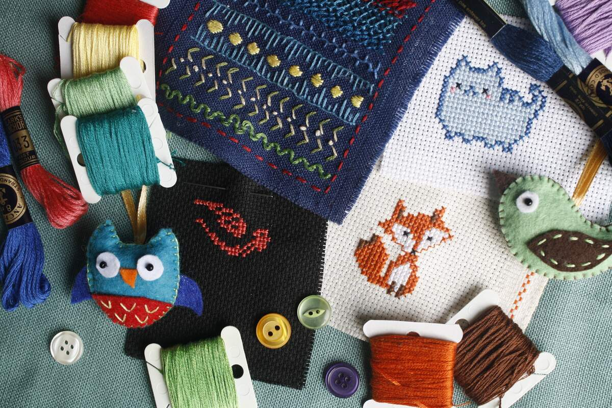 Image for International Embroidery Month