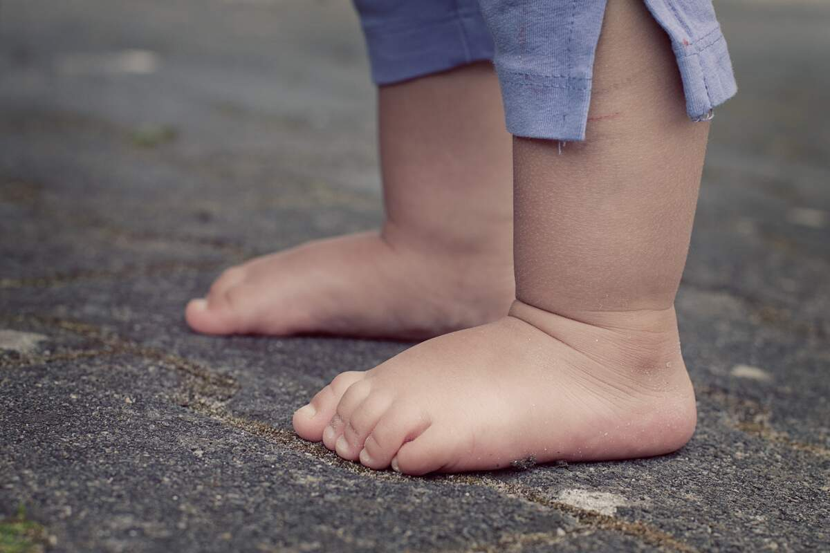 Image for National Go Barefoot Day