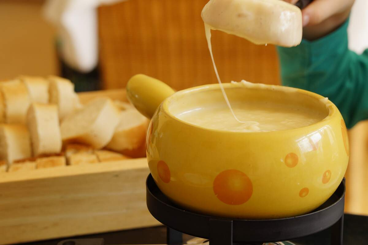 Image for National Cheese Fondue Day