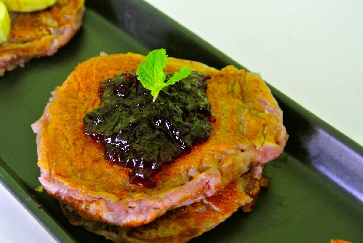 Image for National Blueberry Pancake Day