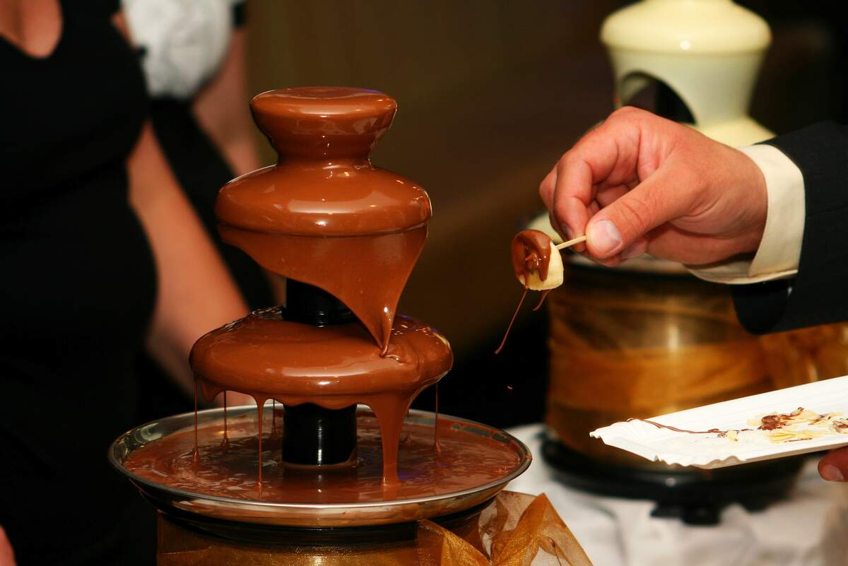 Image for National Chocolate Fondue Day