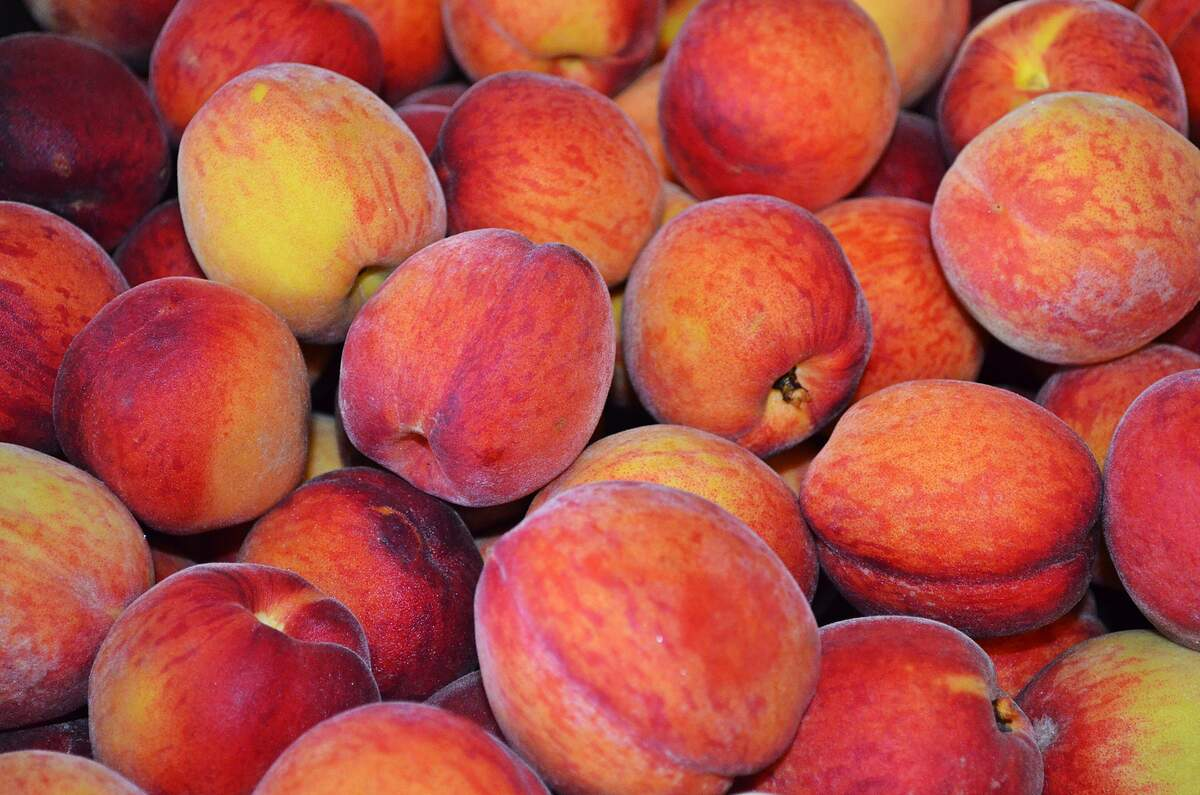 Image for National Peach Month