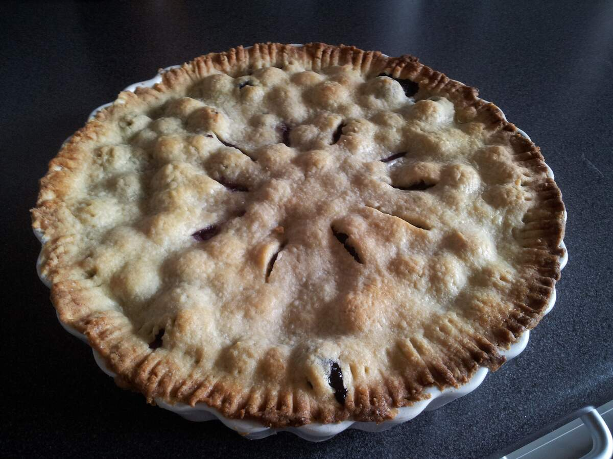 Image for National Blueberry Pie Day