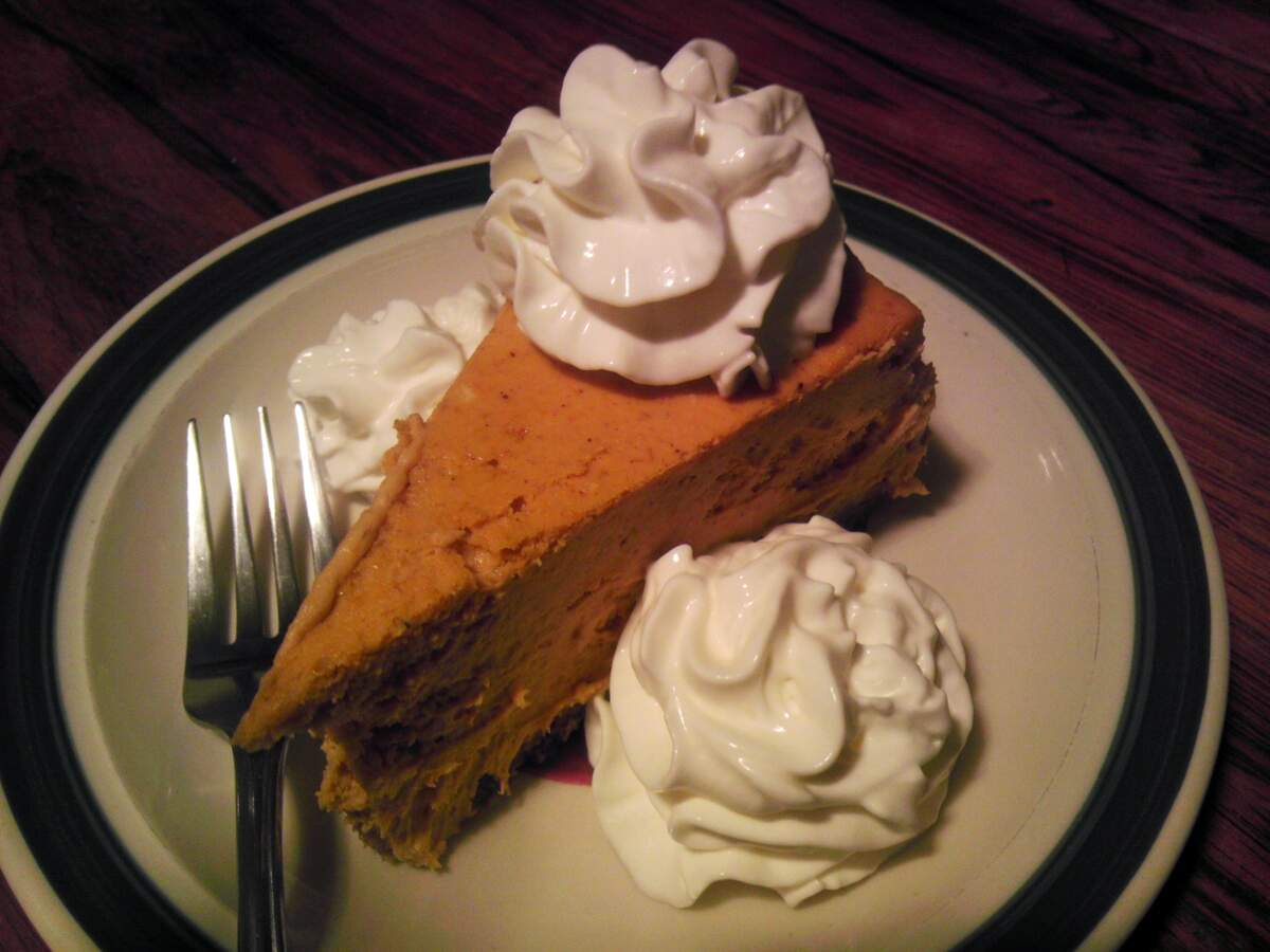 Image for National Pumpkin Cheesecake Day