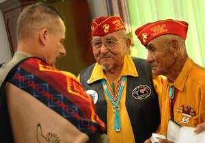Image for National Navajo Code Talkers Day