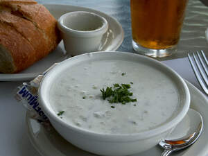 Image for National New England Clam Chowder Day