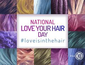 Image for National Love Your Hair Day