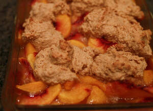 Image for National Peach Cobbler Day