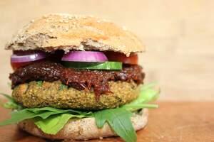 Image for National Veggie Burger Day