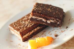 Image for National Cream Cheese Brownie Day