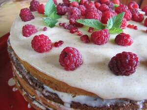 Image for National Raspberry Cake Day
