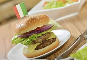 Image for National Double Cheeseburger Day