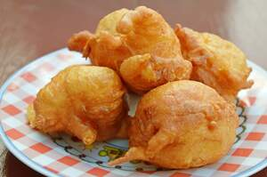 Image for National Corn Fritter Day