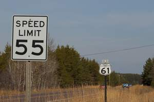 Image for 55 MPH Speed Limit Day