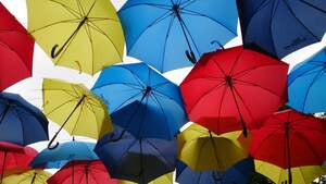 Image for National Open an Umbrella Indoors Day